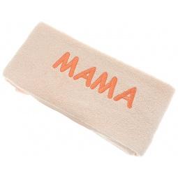 фото Полотенце подарочное с вышивкой TAC Мама. Цвет: персиковый
