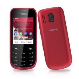 фото Мобильный телефон Nokia 203 Asha. Цвет: красный