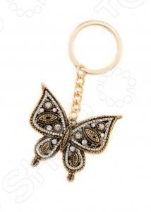 Брелок Mitya Veselkov ButterflyБрелоки<br>Брелок Mitya Veselkov Butterfly это брелок в форме бабочки, выполненный в золотом цвете. Этот брелок станет оригинальным подарком для ваших друзей и коллег. Его можно использовать для поддержки ключей, или как ретро-аксессуар. Также, им можно украсить часть интерьера.<br>