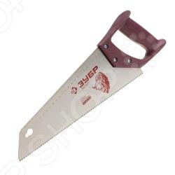 Ножовка по дереву для тонкого пиления Зубр «Эксперт» 15150-35