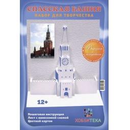 фото Архитектурное оригами. Спасская башня