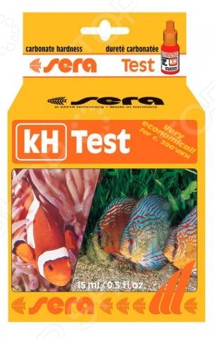 Тест для аквариумной воды Sera kH-Test тест sera ph тест для воды 15 мл