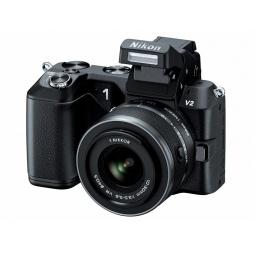 фото Фотокамера цифровая Nikon 1V2 / 10-30 mm. Цвет: черный