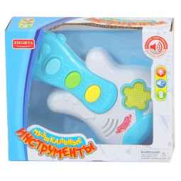 фото Музыкальный инструмент игрушечный Zhorya «Гитара» 1700236