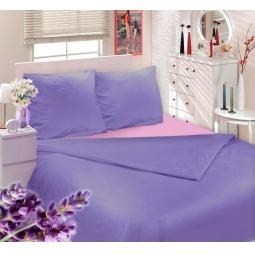 фото Комплект постельного белья Сова и Жаворонок «Прованская лаванда». 1,5-спальный