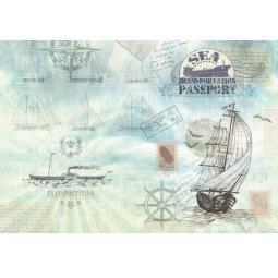 фото Обложка для паспорта Феникс-Презент «Паруса»