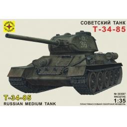фото Сборная модель танка Моделист «Т-34-85»