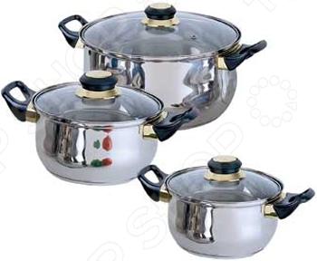 Набор кастрюль Bekker Classic BK-950 набор посуды bekker classic 9 предметов bk 4605