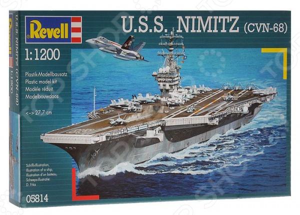 Сборная модель авианосца Revell U.S.S. Nimitz (CVN-68)