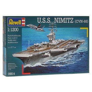 Купить Сборная модель авианосца Revell U.S.S. Nimitz (CVN-68)