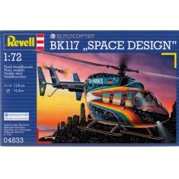 Купить Сборная модель вертолета Revell Eurocopter BK117 Space Design