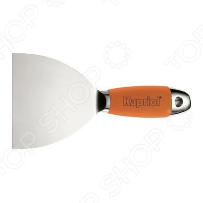 Шпатель KAPRIOL жесткий kapriol 160 мм 23219 полужесткий шпатель с деревянной ручкой