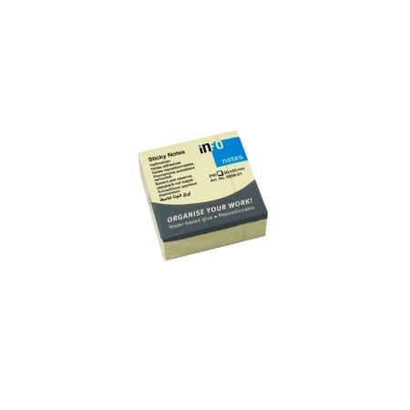Купить Блок-кубик для записей Info Notes 5658-01