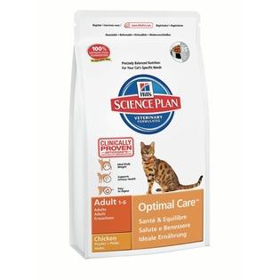 Купить Корм сухой для кошек Hill's Science Plan Optimal Care с курицей