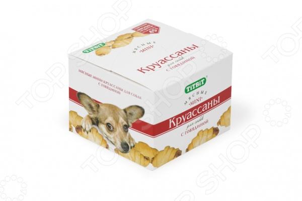 Лакомство для собак TiTBiT 4415 «Печенье. Круассаны с говядиной»