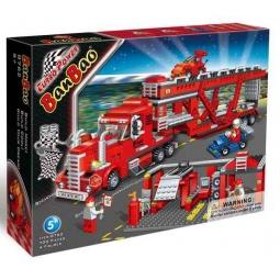 фото Конструктор Banbao Грузовик-автовоз, 700 деталей