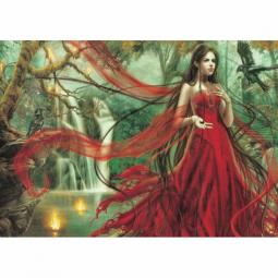 Купить Пазл 3000 элементов Heye «Девушка в красном»