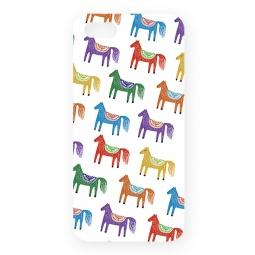 фото Чехол для iPhone 5 Mitya Veselkov «Цветные лошадки»