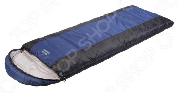 Спальный мешок Trek Planet Walker ComfortСпальные мешки<br>Trek Planet Walker Comfort это современный, практичный и удобный спальный мешок, без которого трудно обойтись любителям настоящего отдыха на дикой природе. Это может быть туристический поход, охота или рыбалка, а также другие виды отдыха, предполагающие ночевку под открытым небом или в палатке. Благодаря сочетанию продуманной формы и высококачественных материалов, температурный диапазон, при котором сон в таком мешке будет комфортным, достаточно широк. Преимущества спального мешка Trek Planet Walker Comfort:  Температура экстрима составляет -10 ;  Температура комфорта, составляющая 7 ;  Глубокий теплый капюшон для комфортного и спокойного сна;  Защита от влаги и ветра;  Конструкция, позволяющая состегивать вместе два спальника;  Защищенная термоклапаном двухзамковая молния;  Внутренний карман;  Комплектный чехол, способствующий максимальному удобству при переноске и хранении спального мешка. Обеспечьте себя качественной экипировкой и каждый поход на природу станет настоящим приключением, со множеством событий, оставляющих в памяти неизгладимый след.<br>