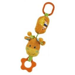 фото Игрушка подвесная Жирафики «Жирафик с колокольчиком»