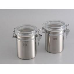 фото Набор из 2 банок для герметичного хранения сыпучих продуктов Gipfel 5583