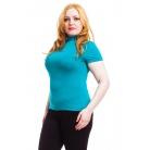 Фото Водолазка Mondigo XL 037. Цвет: изумрудный. Размер одежды: 52