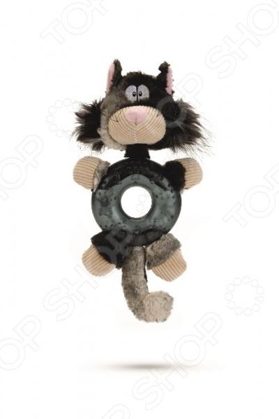 Игрушка для собак Beeztees «Кот» 619775 звезда помнить starmark игрушки щенок игрушка животное игрушка одна шишки резиновых утечек мяча игрушки корма для собак трубы tedd