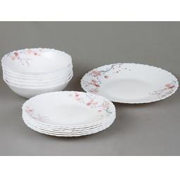 фото Набор столовой посуды Rosenberg 1251. Рисунок: сакура