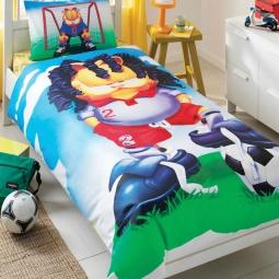 фото Детский комплект постельного белья TAC Garfield football