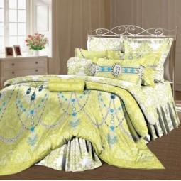 фото Комплект постельного белья Романтика «Роскошь». 2-спальный