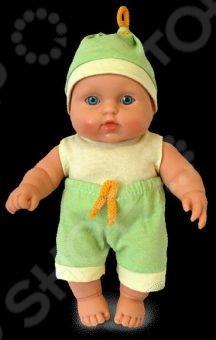 Пупс мальчик Весна «Карапуз 2» кукла весна карапуз в халате в ванночке мальчик 20 см
