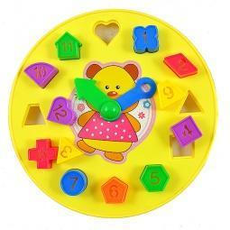 фото Сортер-часы Shantou Gepai «Медвежонок» N014