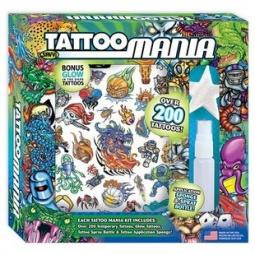 Купить Татуировки временные Savvi Mega. В ассортименте