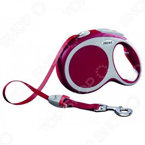 Поводок-рулетка Flexi VARIO L. Цвет: красный