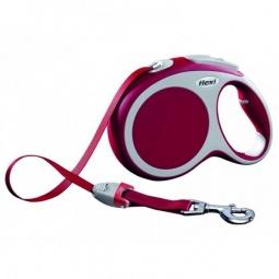 фото Поводок-рулетка Flexi VARIO L. Цвет: красный. Длина поводка: 5 м. Вес собаки: до 60 кг