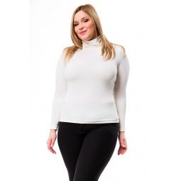 фото Водолазка Mondigo XL 204. Цвет: молочный. Размер одежды: 52