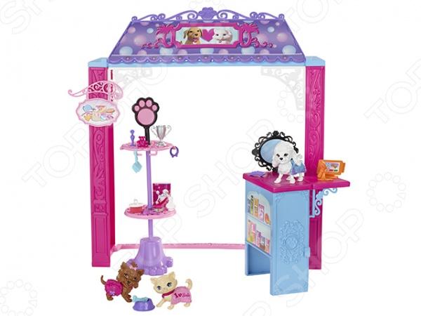 фото Зоомагазин для Барби Mattel CCL73, Кукольные домики. Мебель