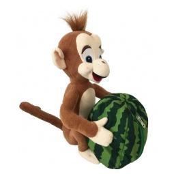 фото Мягкая игрушка Fluffy Family «Обезьянка Арчи и арбуз»