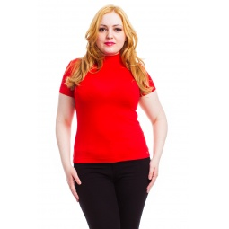 фото Водолазка Mondigo XL 037. Цвет: красный. Размер одежды: 52