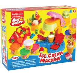фото Набор пластилина на растительной основе Erich Krause Ice Cream Machine