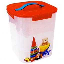 фото Контейнер для хранения мелочей с вкладышем IDEA «Деко. Игрушки». Объем: 10 л