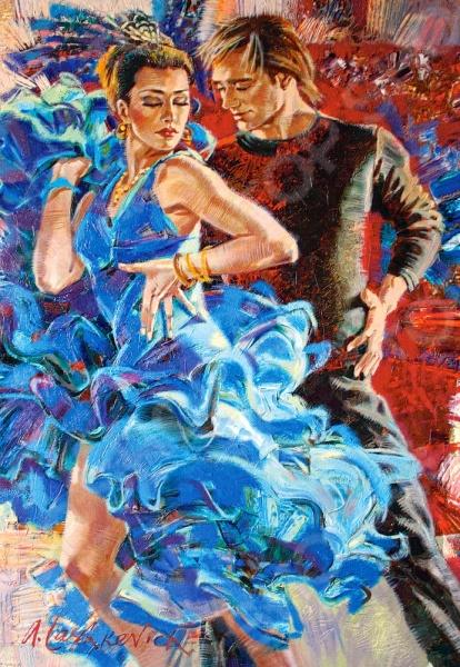 Пазл 1000 элементов Castorland «Танец»Пазлы (501–1000 элементов)<br>Пазл Castorland Танец это отличное и веселое времяпрепровождения для всей семьи. Внутри упаковки находится набор из 1000 элементов. Части изображения соединяются между собой с помощью пазлового замка. Собрав все детали воедино, у вас получится великолепная картина, которую, сперва надежно закрепив, можно повесить на стену, как предмет декора. Пазл Castorland Танец изготовлен из абсолютно безопасного материала, поэтому замечательно подойдет для детей. Головоломка развивает усидчивость, наблюдательность, образное восприятие и логическое мышление. Постоянно манипулируя деталями, ребенок улучшает мелкую моторику рук и координацию движений. Размер готового пазла составляет 68х47 см.<br>