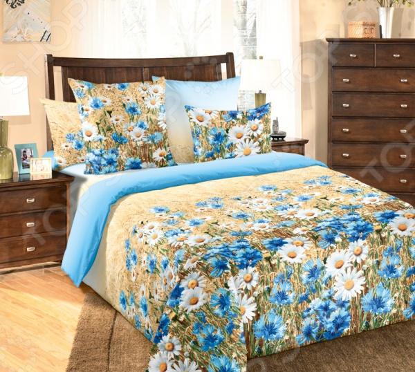 Комплект постельного белья ТексДизайн «Васильки» комплект постельного белья тексдизайн эдгар