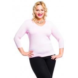 фото Кофта Mondigo XL 052. Цвет: бледно-розовый. Размер одежды: 52