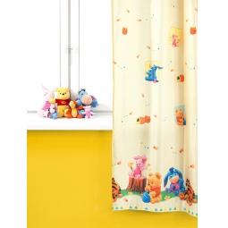 фото Портьера TAC Малыш Винни. Цвет: желтый