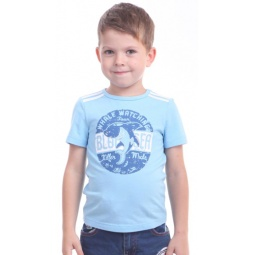 фото Футболка для мальчика Свитанак 107695. Размер: 34. Рост: 134 см