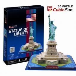 Купить Пазл 3D CubicFun «Статуя Свободы»
