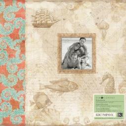 Купить Альбом для скрапбукинга K&Company «Путешествие»