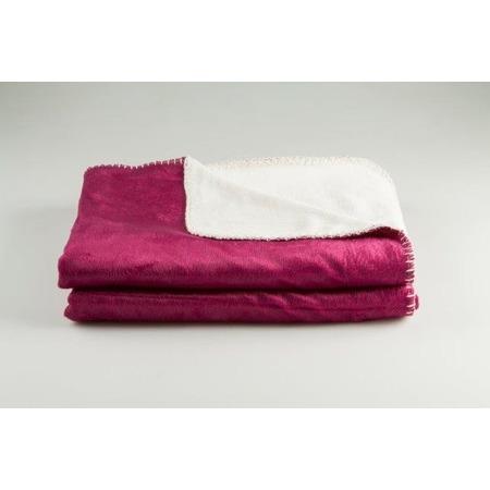 Фото Покрывало Dormeo Extreme Soft. Цвет: пурпурный