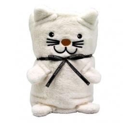 Купить Плед-игрушка Coool Toys «Белый котик»